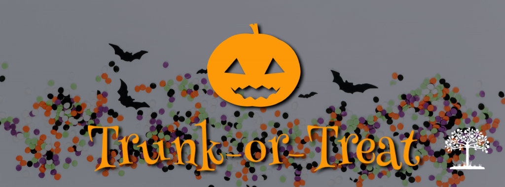 Trunk or Treat Logo and link to sign up forms